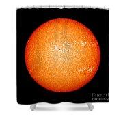 Full Sun Showing Coronal Mass Ejection Shower Curtain