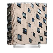 Fulton House. Chicago Shower Curtain