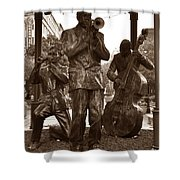 Fulton Square New Orleans Shower Curtain