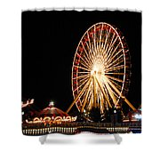Fun At The Navy Pier Shower Curtain