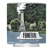 Funeral Shower Curtain