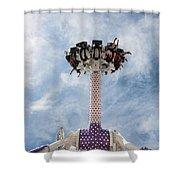 Funfair Ride Shower Curtain