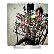 Funky Ride 2 Shower Curtain