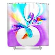 Funny Cuckoo Shower Curtain