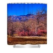 Furrowed Field At South Platte Park Shower Curtain