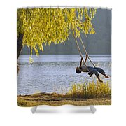 Fv3583, Natural Moments Photography Boy Shower Curtain