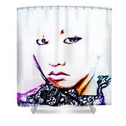 G-dragon Shower Curtain