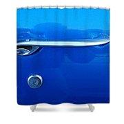 G M  Door Handle Shower Curtain
