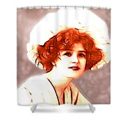 Gabrielle Ray Portrait  Shower Curtain