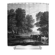 Gainsborough: Scenic View Shower Curtain
