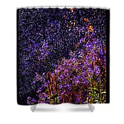Galactic Gardens Shower Curtain