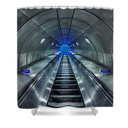 Galactic Quest Shower Curtain