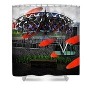 Galactus Shower Curtain