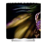 Galaxy Flower Shower Curtain