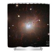 Galaxy Ngc 1275 Shower Curtain