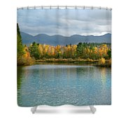 Gale River In Franconia New Hampshire Shower Curtain