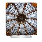 Galleries Laffayette Paris France Shower Curtain