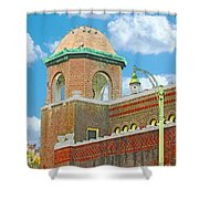Galloway Church Memphis Shower Curtain