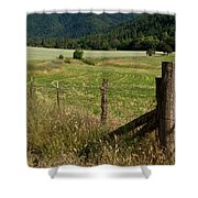 Galls Creek Farm Scene Shower Curtain