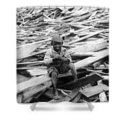 Galveston Flood Survivor - September - 1900 Shower Curtain by International  Images