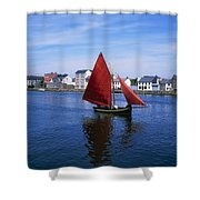 Galway, Co Galway, Ireland Galway Shower Curtain
