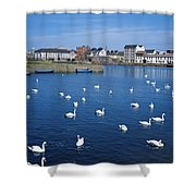 Galway, County Galway, Ireland Shower Curtain
