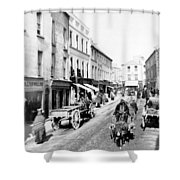Galway Ireland - High Street - C 1901 Shower Curtain