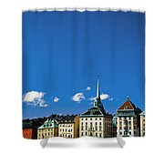 Gamia Stan Main Square Shower Curtain