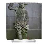 Garden Boy Shower Curtain