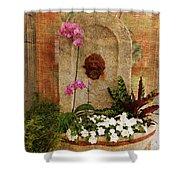 Garden Deco Shower Curtain