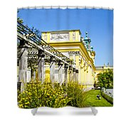 Garden Entry Wilanow Palace - Warsaw Shower Curtain