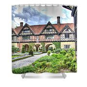 Garden Of Cecilenhof Palace Germany Shower Curtain