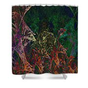 Garden Of Color Shower Curtain
