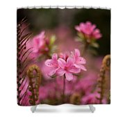 Garden Of Friends Shower Curtain