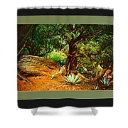 Garden Of The Lost Tribe Shower Curtain