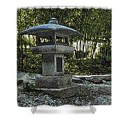 Garden Pagoda Shower Curtain