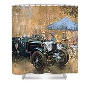 Garden Party With The Bentley Shower Curtain
