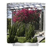 Garden Pergola Shower Curtain