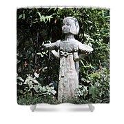 Garden Statuary Shower Curtain