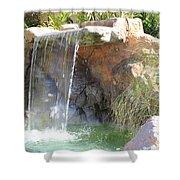 Garden Waterfall Shower Curtain