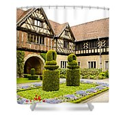 Gardens At Cecilienhof Palace Shower Curtain