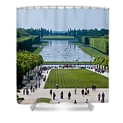 Gardens At Palace Of Versailles France Shower Curtain