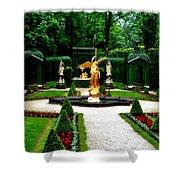 Gardens Of Linderhof Castle II Shower Curtain