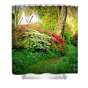 Gardens Of The Old Rectory Shower Curtain