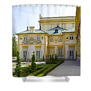 Gardens Of Wilanow Palace - Warsaw Shower Curtain