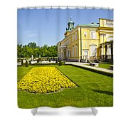 Gardens Wilanow Palace  Shower Curtain