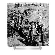 Gas Masks, World War I Shower Curtain by Photo Researchers