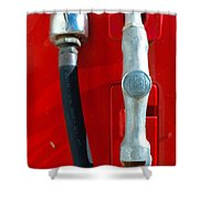 Gas Pump Shower Curtain