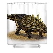 Gastonia Burgei, A Prehistoric Era Shower Curtain