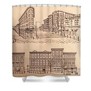 Gastown Vancouver Canada Prints Shower Curtain